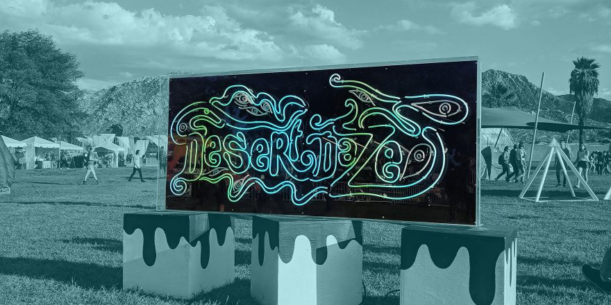 Desert Daze sign - Talkhouse Podcast