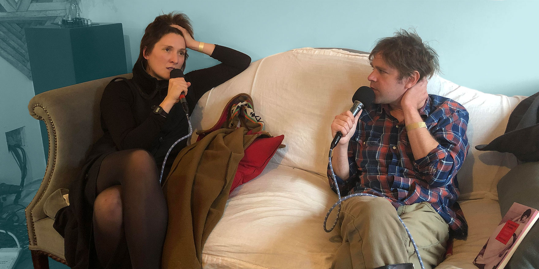 Ariel Pink Talks With Cate Le Bon For The Talkhouse Podcast