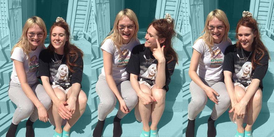 Clem Creevy Cherry Glazerr Talks With Kate Nash For The