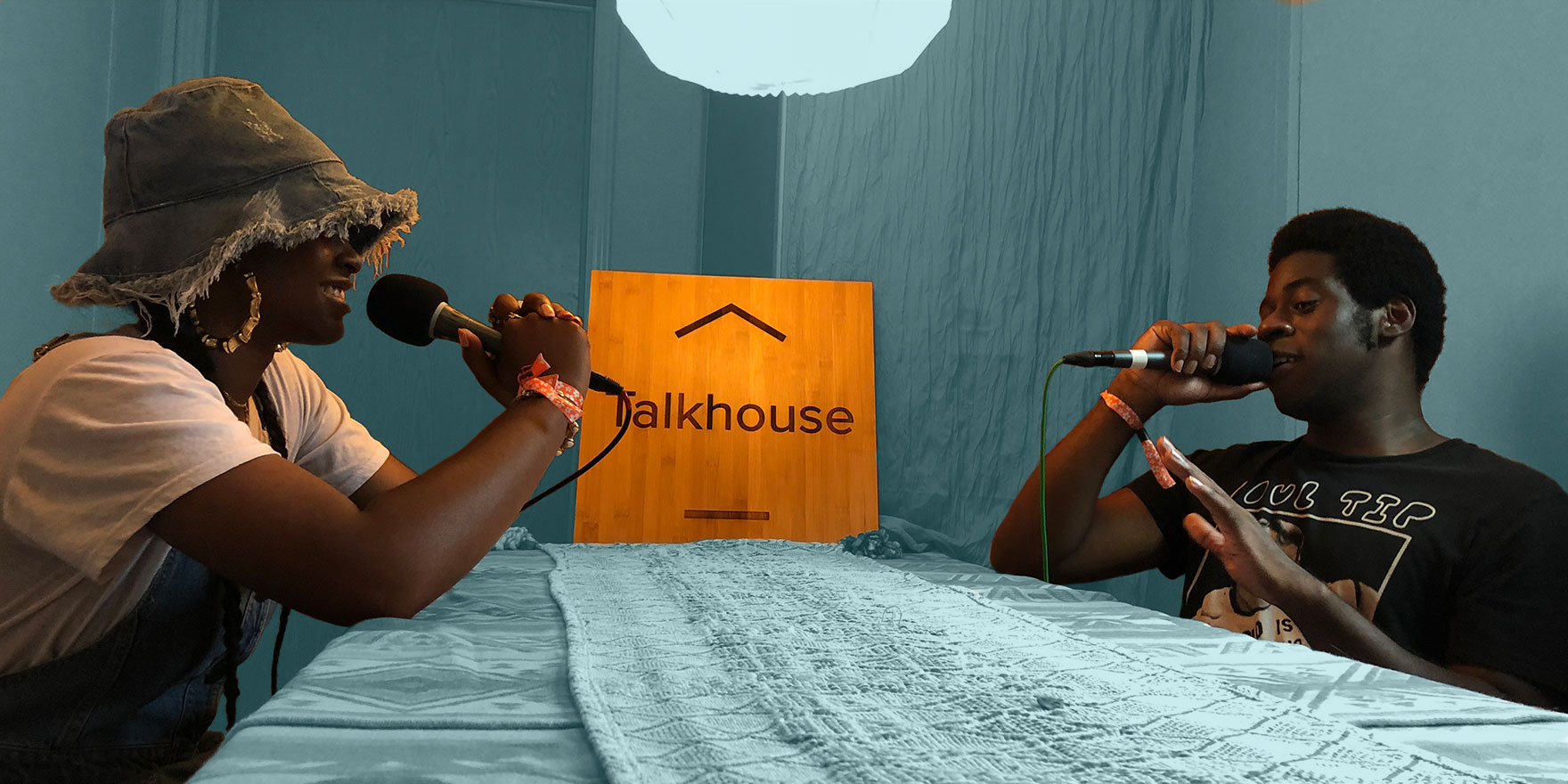 Tierra Whack Talks with Nnamdi Ogbannaya for the Talkhouse Podcast