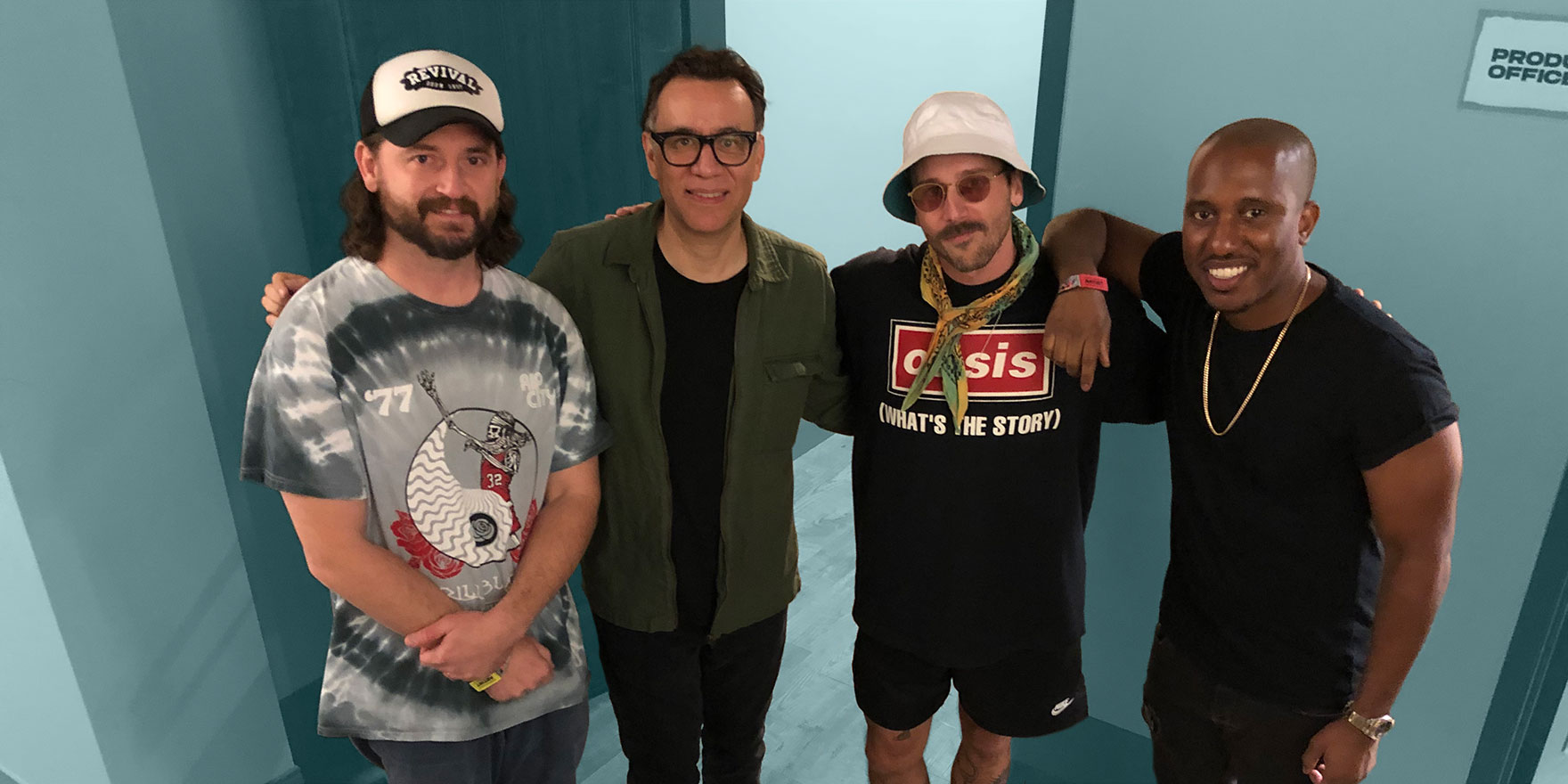 Portugal The Man Talks With Fred Armisen And Chris Redd For The Talkhouse Podcast